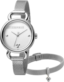 Esprit Play Mesh Set horloge 32 mm