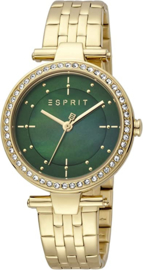 Esprit  Ruby Gold Tone horloge 34 mm