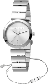 Esprit Bay Silver Set horloge 28 mm