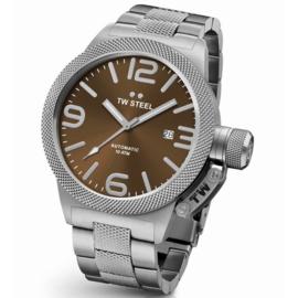 TW Steel CB25 Canteen Bracelet Automaat Horloge 45mm