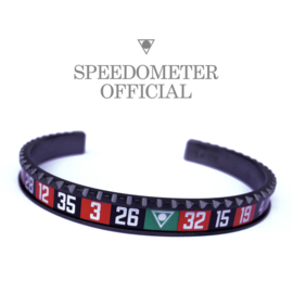 Speedometer Official Armband SBRCASINOB Black/Red