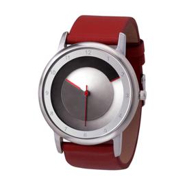 Colour Inspiration AVANTGARDIA Black Red Designhorloge 38mm