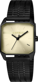 Esprit Cube  Black Gold Damenuhr 29 mm