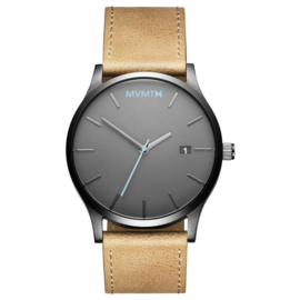 MVMT Gunmetal Sandstone Horloge 45 mm