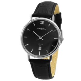 Prisma Classic Horloge Edelstaal Datum