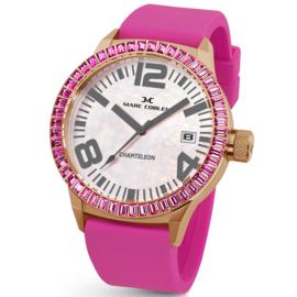 Marc Coblen MC45R5R209 Parelmoer Horloge 45mm
