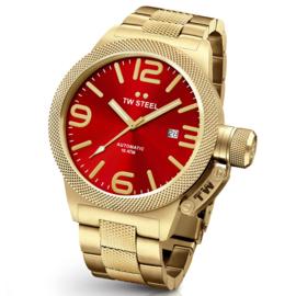 TW Steel CB115 Canteen Bracelet Automaat Horloge 45mm