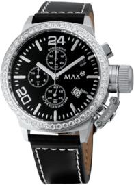 Max Watches Classic Dames Chronograaf Horloge RVS 36mm