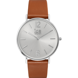 Ice Watch City Tanner Caramel Silver horloge 41mm