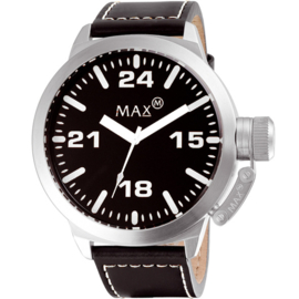 Max Watches Classic XXL Horloge RVS 52mm