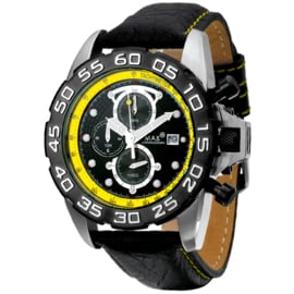 Max Watches GP Chrono Herrenuhr RVS 45mm