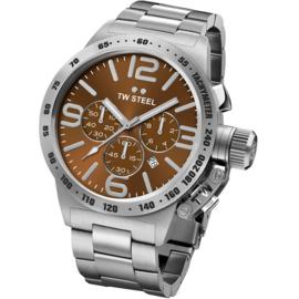 TW Steel CB24 Canteen XL Chronograaf Horloge 50mm