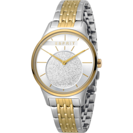 Esprit Grace Gold/Silver Tone Damenuhr 34 mm