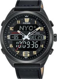 PULSAR PZ4045 Herenhorloge Chronograaf Digitaal 45mm