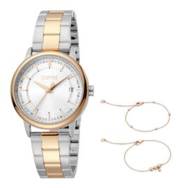 Esprit Love Gold/Silver Set horloge 34 mm