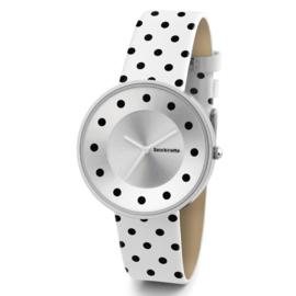 Lambretta Cielo Dots White  Horloge 37 mm