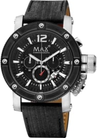 Max Watches Chronograph Herrenuhr 47mm
