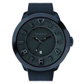 Tendence Gulliver Sport All-Black Uhr XXL