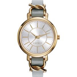Esprit Brook Street Gold Tone Damenuhr 34 mm
