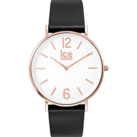 Ice Watch City Tanner Black Rose-Gold horloge 41mm
