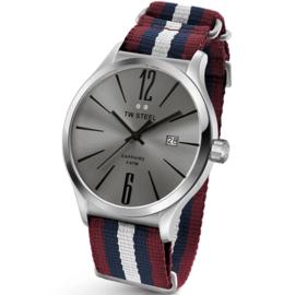 TW Steel TW1322 Slim Line Heritage NATO Horloge 45mm
