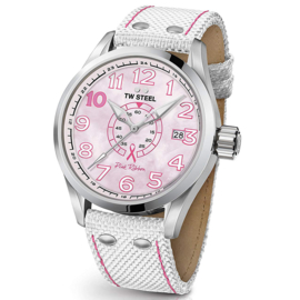 TW Steel TW972 Volante Pink Ribbon Special Edition 45mm