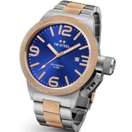 TW Steel CB146 Canteen Bracelet Automaat XL Horloge 50mm