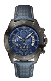 Guess Gridlocked Herenhorloge 48mm