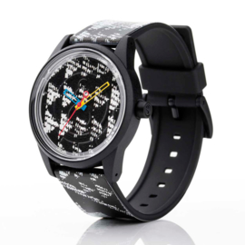 Q&Q Smile Solar Spice Design Duurzaam Horloge 40mm