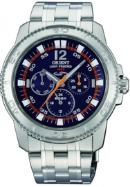 Orient Light-Power Sapphire Herenhorloge 42 mm