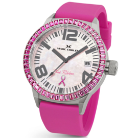 Marc Coblen MC45PR1 Pink Ribbon Uhr 45mm