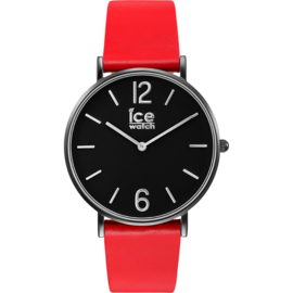 Ice Watch City Tanner Red Black horloge 36mm