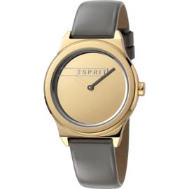 Esprit Magnolia Champagne horloge 34 mm