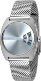 Esprit Disc Silver Dames horloge 32 mm