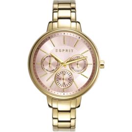 Esprit Melanie Gold Tone horloge 36 mm