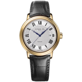 Raymond Weil Maestro Horloge Automatic Staal Saffier 39mm