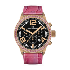 Marc Coblen MC42R2 Chronograaf Pink 42mm