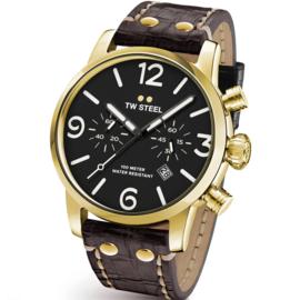 TW Steel MS54 Maverick Chronograaf Horloge 48mm