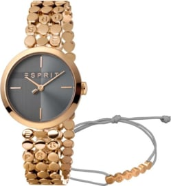 Esprit Bliss Gold Set horloge 30 mm