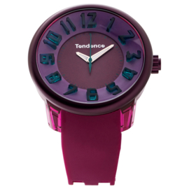 Tendence Fantasy Horloge Purple & Pink XXL
