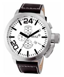 Max Watches Classic Chronograaf Herenhorloge RVS 47mm