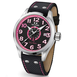 TW Steel TW973 Volante Pink Ribbon Special Edition 45mm