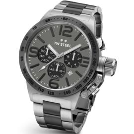 TW Steel CB204 Canteen XL Chronograaf Horloge 50mm