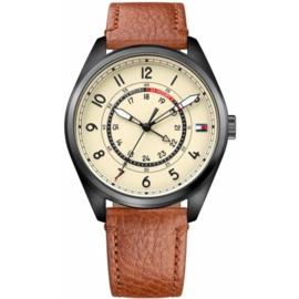 Tommy Hilfiger Dylan Dual Time Horloge 44 mm