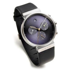 Jacob Jensen Chrono 605 Titanium Horloge 37 mm