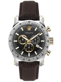 Versace VEV800119  Herenhorloge Chronograaf  Saffier 44 mm