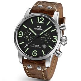 TW Steel MS14 Maverick Chronograaf Horloge 48mm (DEMO)
