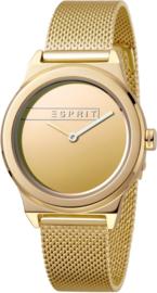 Esprit Magnolia Gold Mesh horloge 34 mm