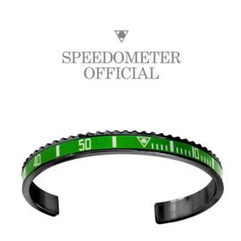 Speedometer Official Armband SBR1066B Green