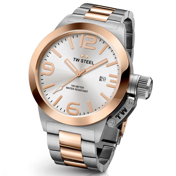 TW Steel CB121 Canteen Bracelet Horloge 45mm